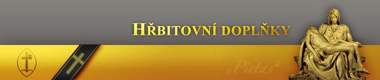 Hřbitovní doplňky e-shop, logo