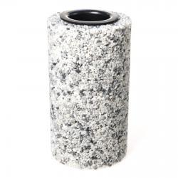 Smuteční váza Silver