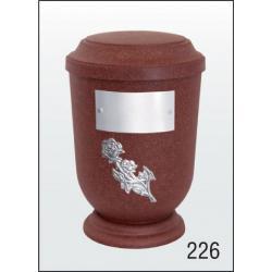 Urna Z-dřevoplast-226 prohlé víčko
