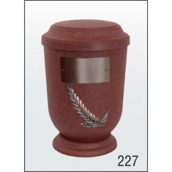 Urna Z-dřevoplast-227 prohlé víčko