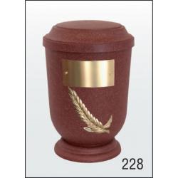 Urna Z-dřevoplast-228 prohlé víčko