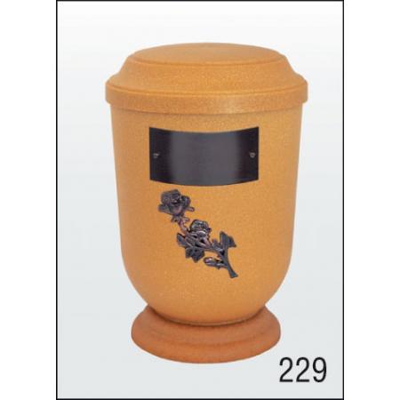 Urna Z-dřevoplast-229 prohlé víčko