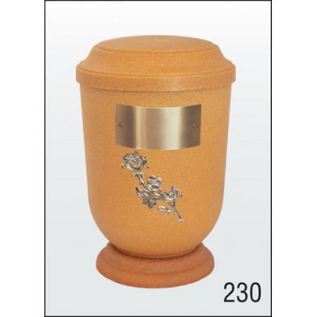 Urna Z-dřevoplast-230 prohlé víčko
