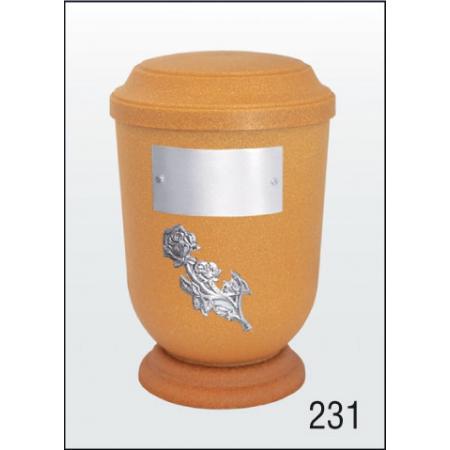 Urna Z-dřevoplast-231 prohlé víčko
