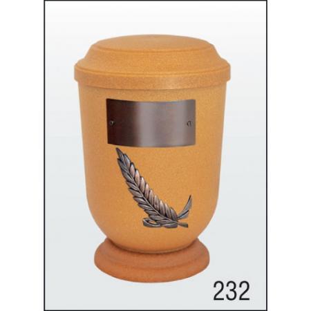 Urna Z-dřevoplast-232 prohlé víčko