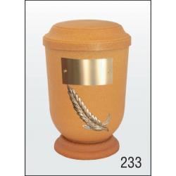 Urna Z-dřevoplast-233 prohlé víčko
