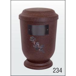 Urna Z-dřevoplast-234 prohlé víčko