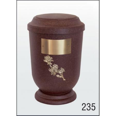 Urna Z-dřevoplast-235 prohlé víčko