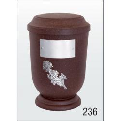Urna Z-dřevoplast-236 prohlé víčko