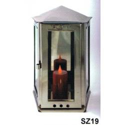 Lucerna na hrob SZ19 závěsná skosená