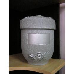 Urna S2 - Pryskyřice stříbrná