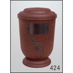 Urna Z-dřevoplast-424 oblé víčko