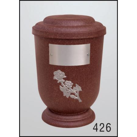 Urna Z-dřevoplast-426 oblé víčko