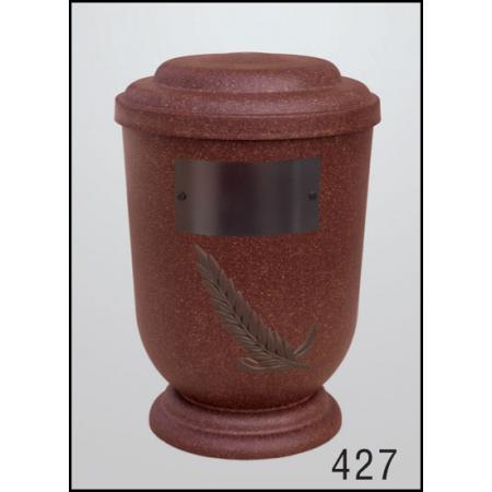 Urna Z-dřevoplast-427 oblé víčko