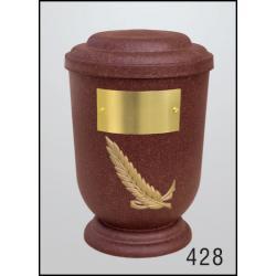 Urna Z-dřevoplast-428 oblé víčko
