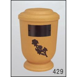 Urna Z-dřevoplast-429 oblé víčko