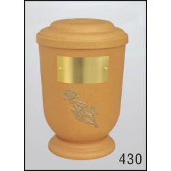 Urna Z-dřevoplast-430 oblé víčko