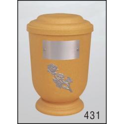 Urna Z-dřevoplast-431 oblé víčko