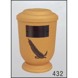 Urna Z-dřevoplast-432 oblé víčko