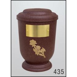 Urna Z-dřevoplast-435 oblé víčko