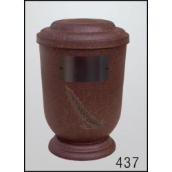 Urna Z-dřevoplast-437 oblé víčko