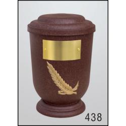 Urna Z-dřevoplast-438 oblé víčko