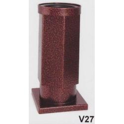 Hřbitovní váza V27-Komaxit-nerez staroměď